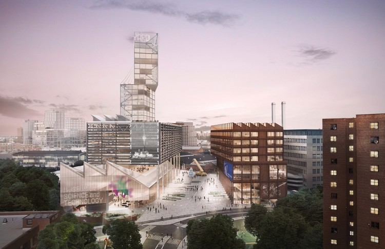 WXY Proposes Vertical Manufacturing Buildings in New Brooklyn Navy Yard Masterplan, Brooklyn Navy Yard. Image Courtesy of BNYDC and WXY
