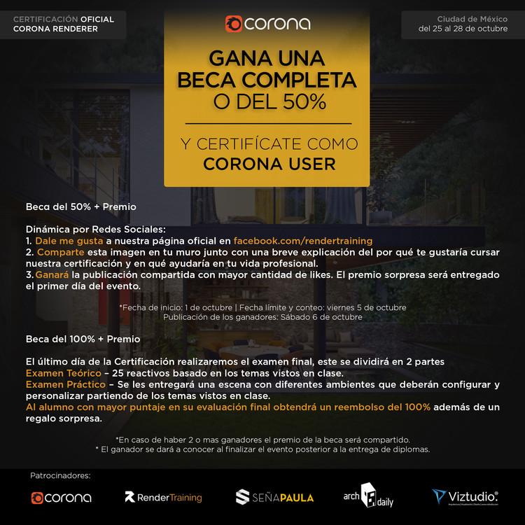 Certificación Oficial Corona Renderer