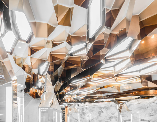 Ceiling_detail. Image © Felix Amiss