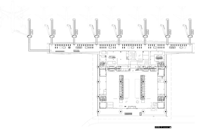 Airports Examples In Plan Section Archdaily