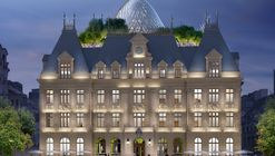 "Vincent Callebaut Architectures Creates a Futurist ""Metamorphosis"" of Luxembourg's Hotel Des Postes"