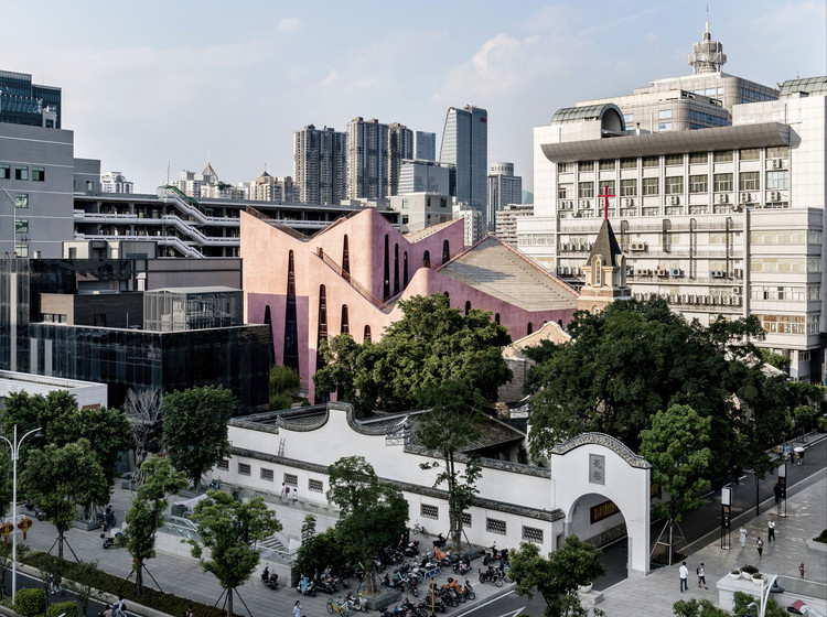 Huaxiang Christian Centre / INUCE • Dirk U. Moench, © Shikai / INUCE