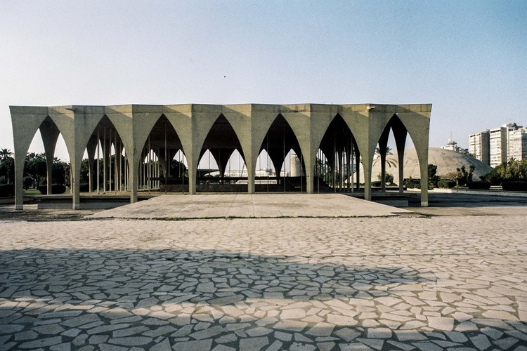 Oscar Niemeyer's Unfinished Architecture in Lebanon May Become a UNESCO World Heritage Site, Tripoli International Fair. Image © Anthony Saroufim