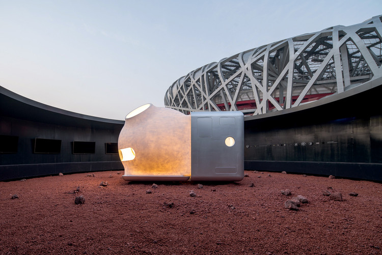 OPEN Architecture and Xiaomi Unveil MARS Case Housing Prototype at China House Vision 2018, MARS Case. Image © WU Qingshan