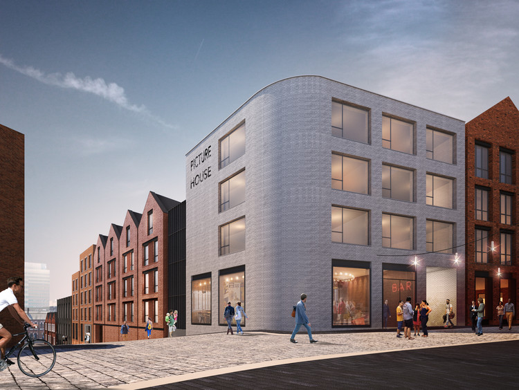 New Plans to Revitalize Birmingham's Jewellery Quarter, Courtesy of Glenn Howells Architects