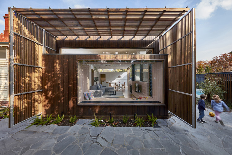 Screen House / Warc Studio Architects, © Aaron Pocock