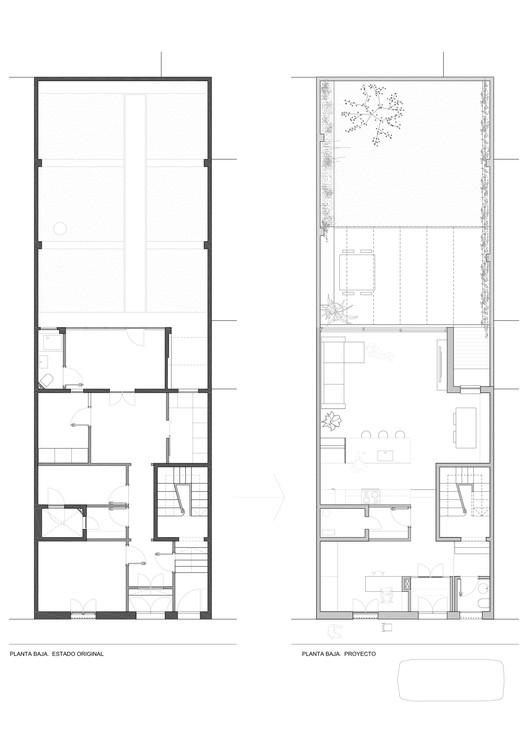 Ground Floor Plan - Original/Project