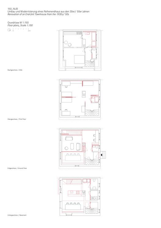 Floor Plans (1:150)