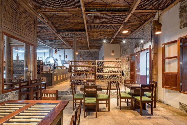 Cafetería Rural Comunitaria Tosepan Kajfen / Proyecto cafeína + Komoni, © Patrick Lopez
