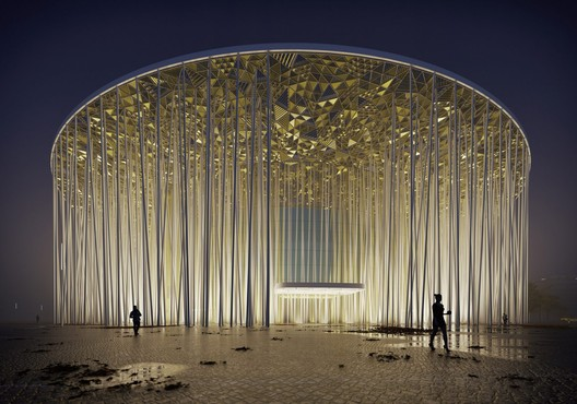 Wuxi Show Theatre. Image Courtesy of Steven Chilton Architects