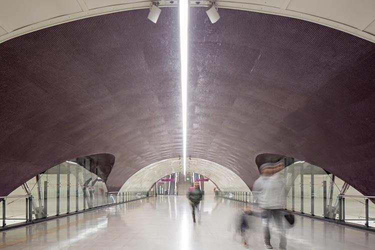 Estaciones de la Línea 6 de Metro de Santiago / IDOM, © Nico Saieh