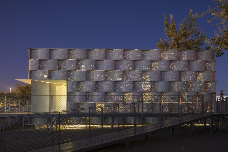 Concrete Vessel / Atelier FCJZ, Fachada Concreta Transmissora de Luz. Imagem © Fangfang Tian