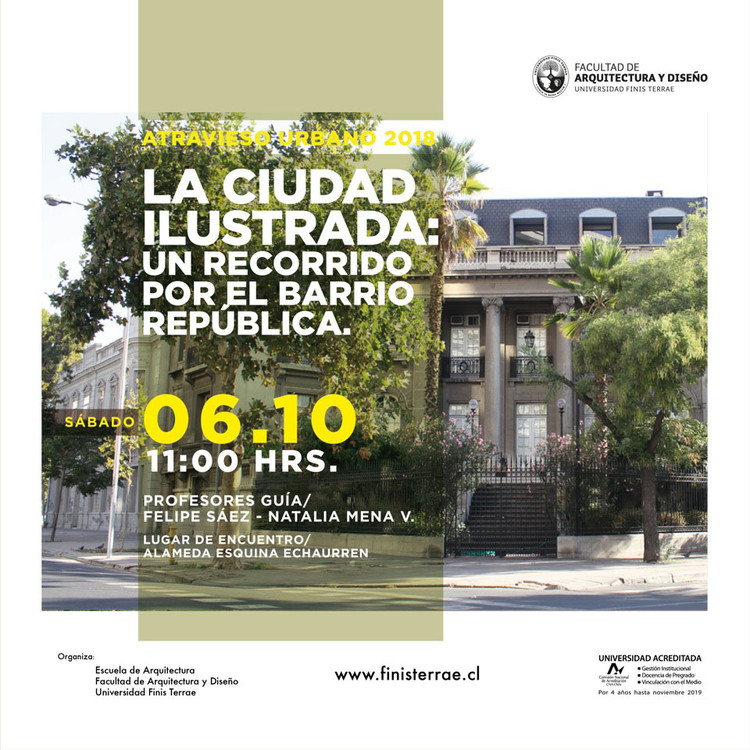 Atravieso Urbano. La ciudad ilustrada: un recorrido por el Barrio República