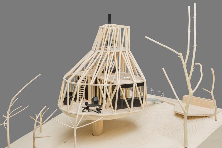 Los mejores materiales para hacer tus maquetas de estudio, Casa no Pomar / ŠÉPKA ARCHITEKTI