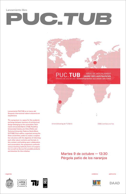 """Lanzamiento libro """"PUC.TUB: diseños de una década"""""""