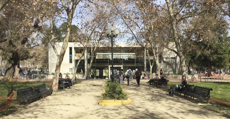 ¿Cuándo el Parque Bustamante se volvió un punto de referencia en Santiago? , Cortesía de Cynthia Marimán Ramos