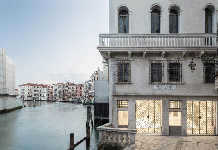 Architectural Intervention: Transforming Venice's Historic Structures to Fit Contemporary Needs, via OMA
