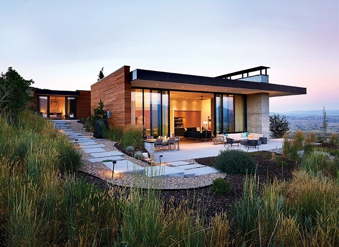 Park City Modern House / Sparano + Mooney Architecture, © Derek Israelsen