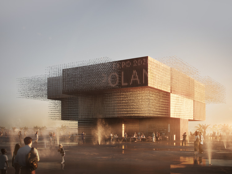 WXCA's Polish Pavilion for Dubai Expo 2020 Features Kinetic Flocks of Birds, © Vivid Vision