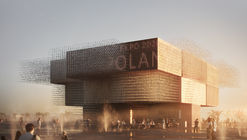 Pavilhão polonês para Expo Dubai 2020 inspira-se na migração das aves