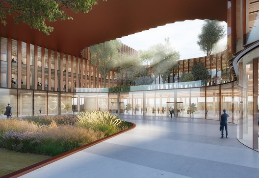BIG Selected to Design First Phase of Airport City in Luxembourg