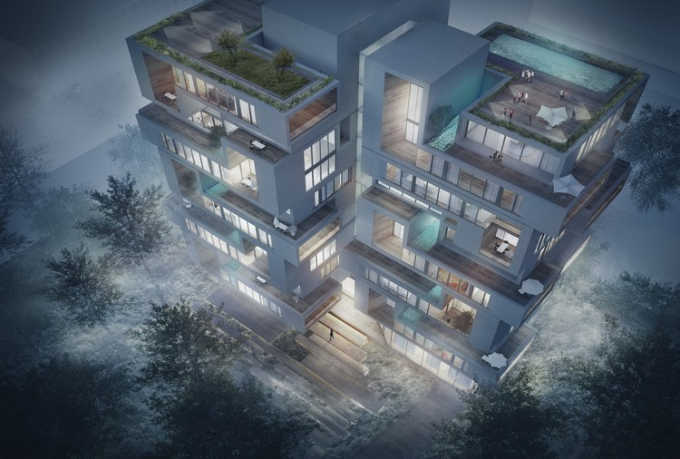 Challenge Studio's Award-Winning Design Envisions a New Residential Typology , Courtesy of Challenge Studio
