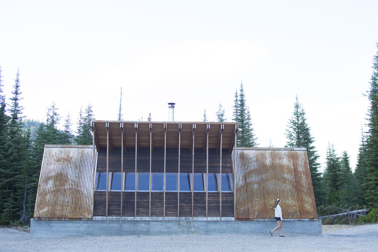 Cabaña Moose Creek / University of Idaho Design-Build Program, © Woods Wheatcroft