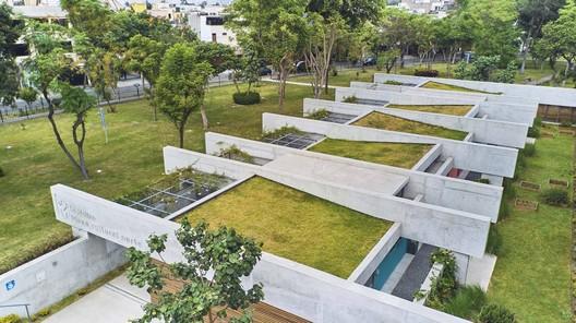 Plaza Cultural Norte / Oscar Gonzalez Moix. Image © Ramiro del Carpio