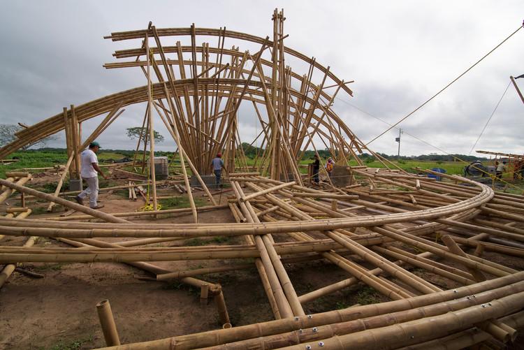 Arquitecta mexicana realiza manual de construcción en bambú, © Lucila Aguilar