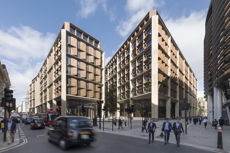 Oficinas de Bloomberg diseñadas por Foster + Partners, ganadoras del RIBA Stirling Prize 2018, © Nigel Young
