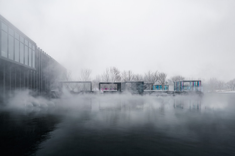Mist Hot-spring Hotel / Department of Architecture, © W Workspace