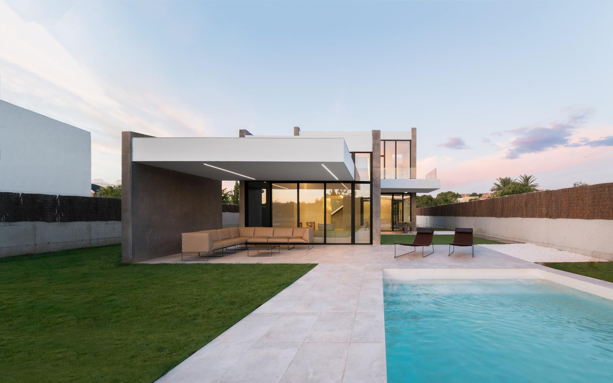 Gallery of tangent house ruben muedra estudio de - Estudios de arquitectura coruna ...