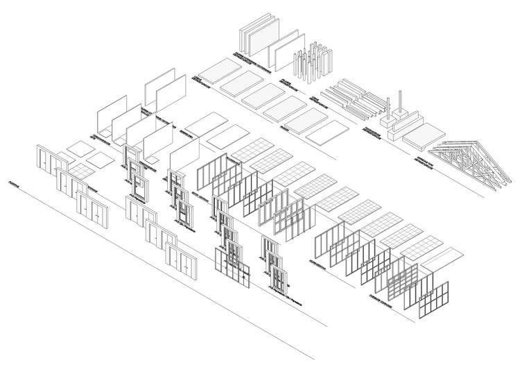 Descarga plantillas de Revit con familias y configuraciones básicas, Plantilla. Image © ArchDaily | Cristián Weason