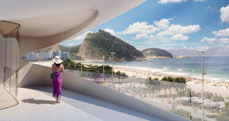 Zaha Hadid's Project in Rio Canceled, © ZHA