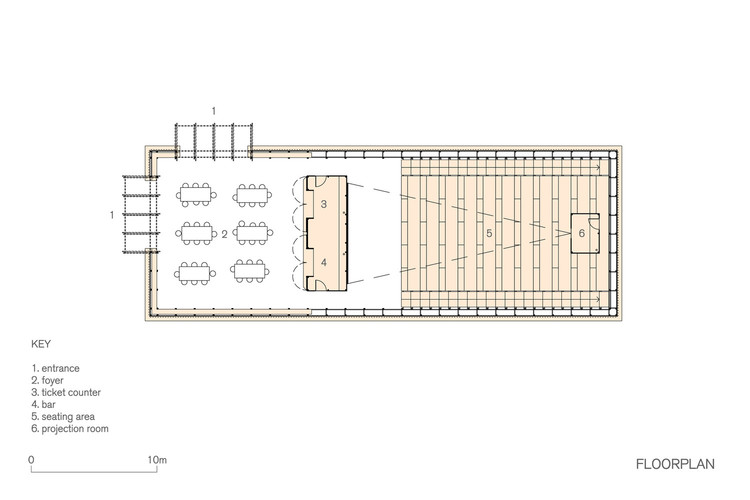 Cinemas And Movie Theaters Examples In Plan And Section Archdaily