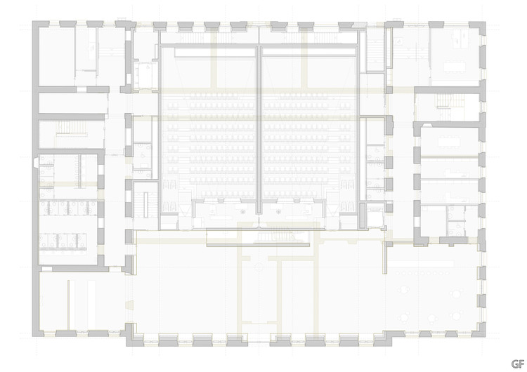 Cinemas and Movie Theaters: Examples in Plan and Section  ArchDaily