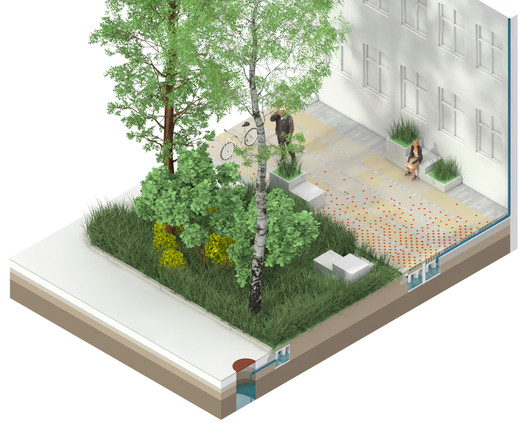 Climate Tile. Image Courtesy of THIRD NATURE