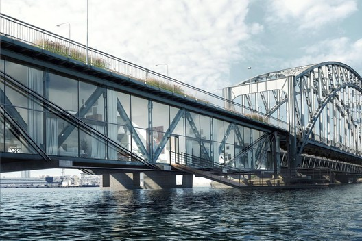 Lidingö Bridge Village. Image Courtesy of Urban Nouveau