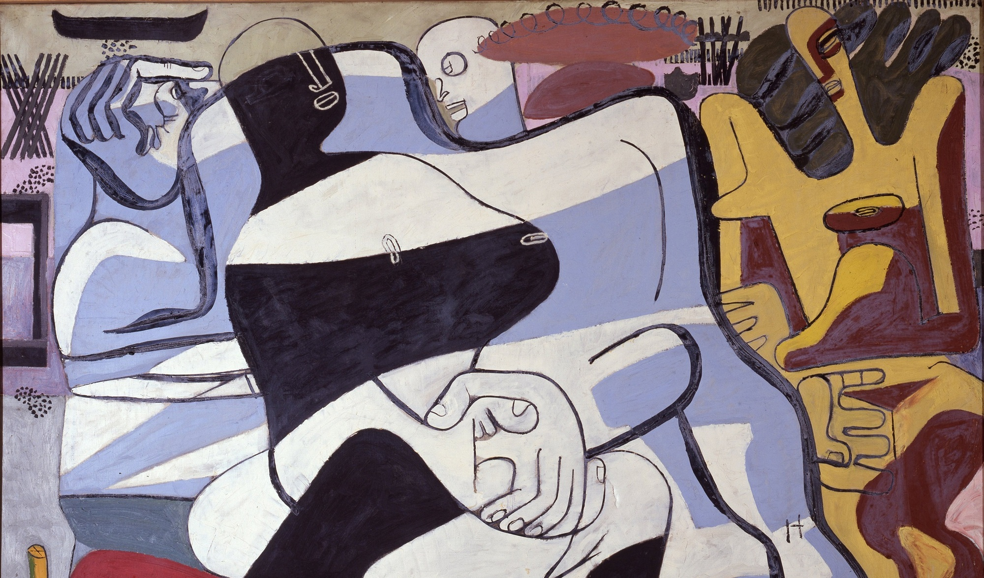 Le Corbusier's Paintings Showcased for the First Time Since 1966