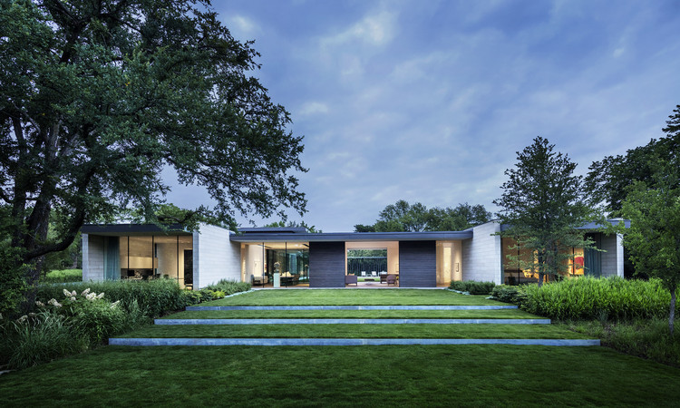 Residência Preston Hollow / Bodron+Fruit, © Scott Frances