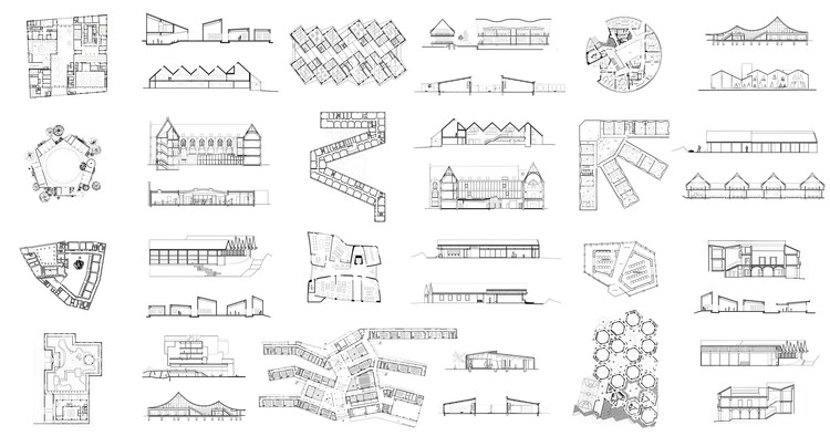 School Architecture: Examples in Plan and Section