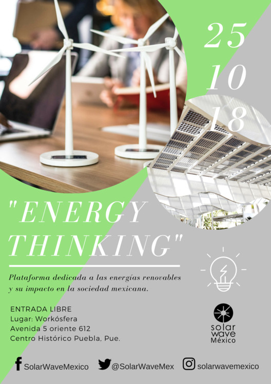 """ENERGY THINKING"", SolarWaveMéxico"