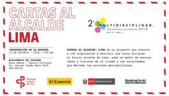 Exposición: Cartas al Alcalde de Lima
