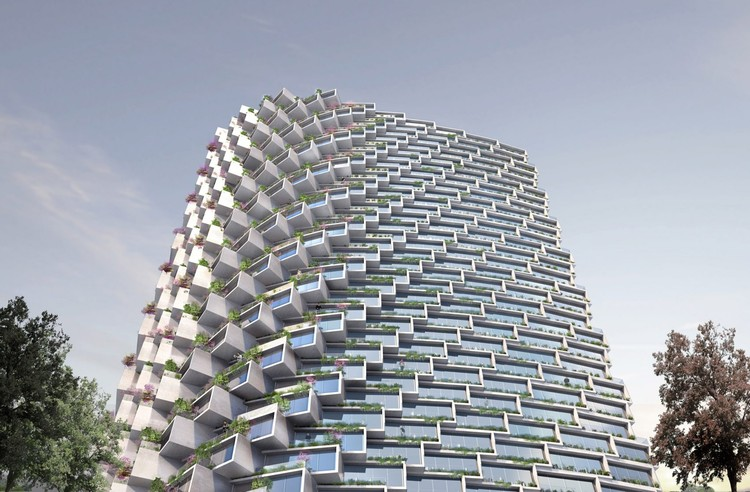 BIG Reveals Skyscraper Design for First Project in South America , Courtesy of Bjarke Ingels Group
