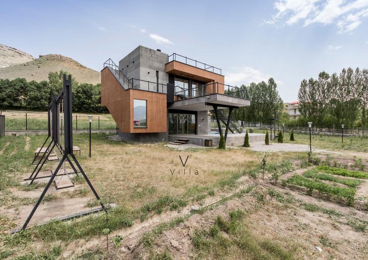 V Villa / White Cube Atelier, © Farshid Nasrabadi