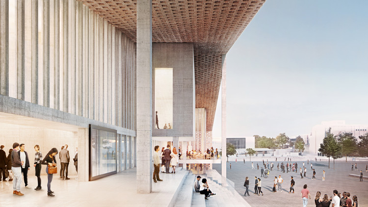 Museum of the 20th Century. Image Courtesy of Herzog & de Meuron