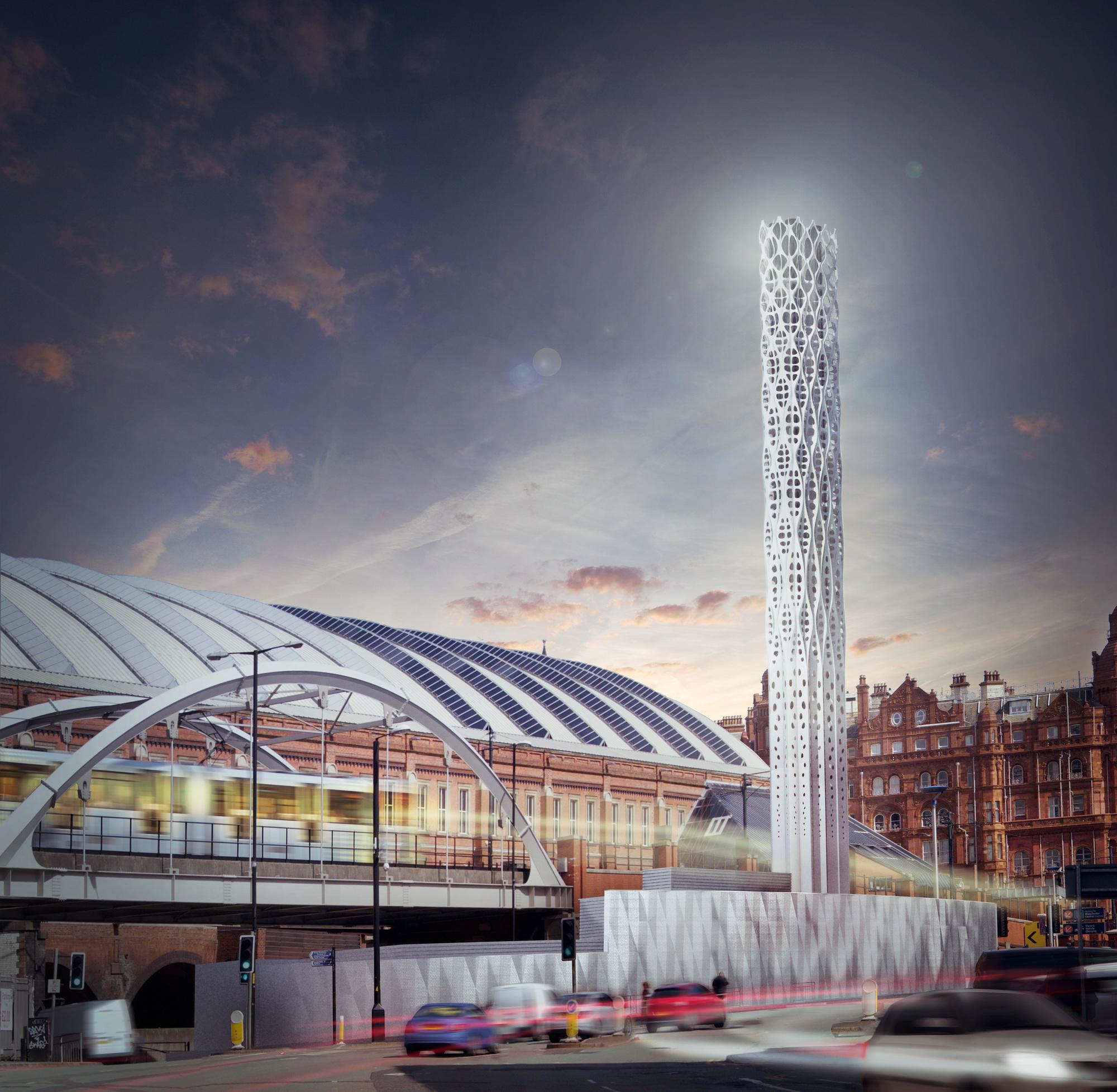Galer a de tonkin liu crea dispositivo m dico inspirado en for Estructuras arquitectonicas