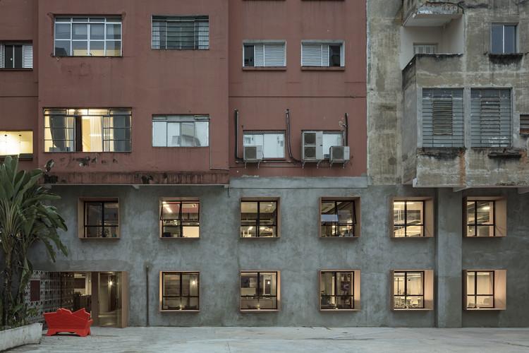 Coworking Impact HUB / Luiz Paulo Andrade Arquitetos, © Leonardo Finotti