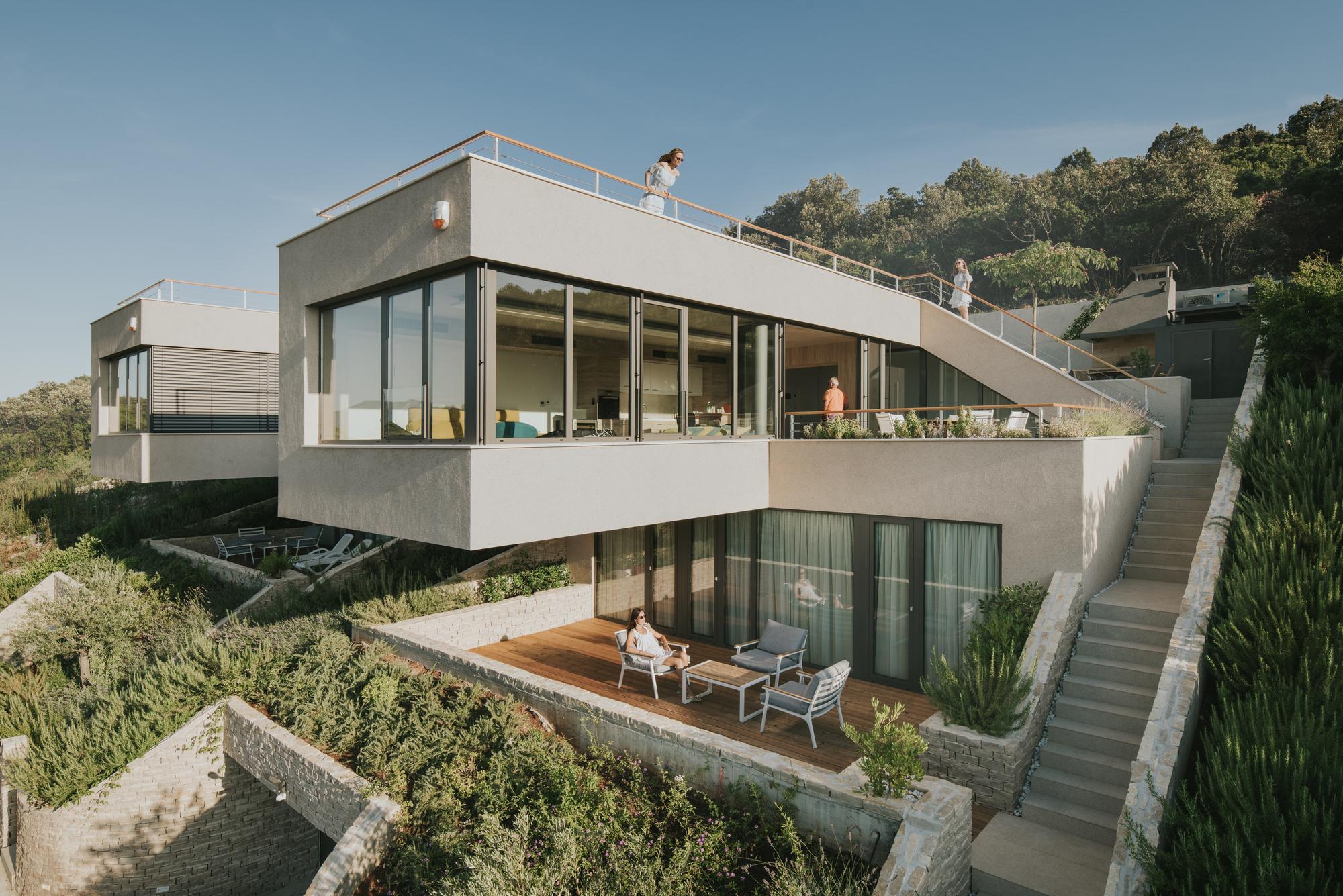Tinel Vacation Houses / SODAarhitekti