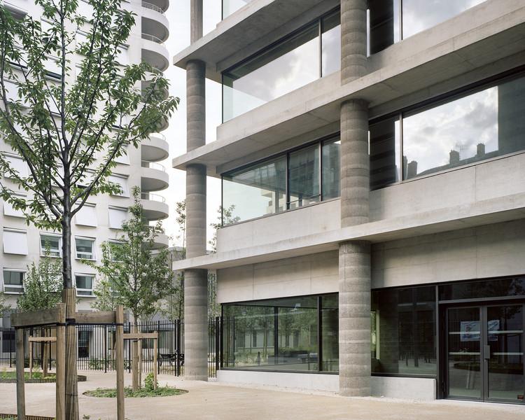 Edificio de oficinas Lyon Confluence Îlot A3 / Christian Kerez, © Maxime Delvaux